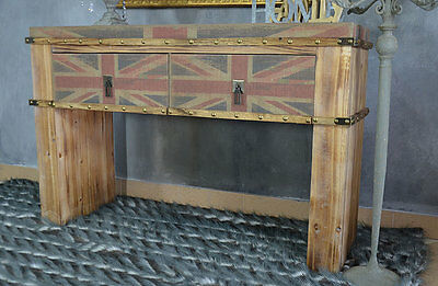 Console Table Dressing Table Chest Of Two Drawers Wooden Hall Stars And Stripes