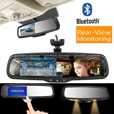 smart bluetooth rearview mirror with reverse video factory style Monitor autovox