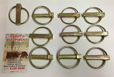 """10  STANDARD LINCH PINS 3.6mm WIRE Diameter 7/16""""(11mm) x 32mm USEABLE"""