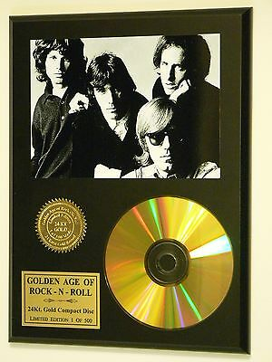 The Doors - Rare 24k Gold CD Display Numbered Limited Edition - USA Ships Free