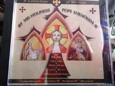Collection of writings by Pope Shenouda 111   new and sealed free postage (b7)