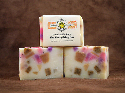 Homemade Goat's Milk Soap ~Everything But The Kitchen Sink ~ Handmade Soap