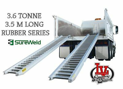 Sureweld 3.6T Loading Ramps 7/3635R Rubber Series