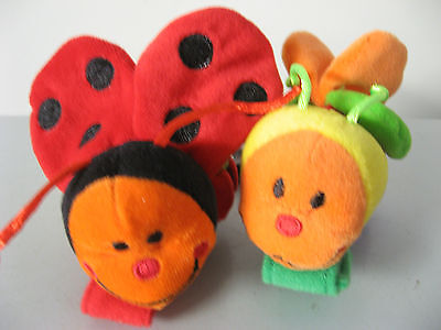 Baby Rattle Wrist Foot Rattle Kids Smart Cute Colourful Bugs