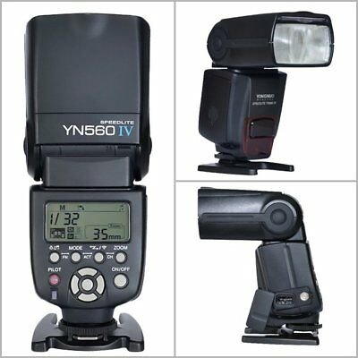 YONGNUO YN-560 IV Wrieless Speedlite Flash for Canon 5D II III 1DS 7D 6D 650D UK
