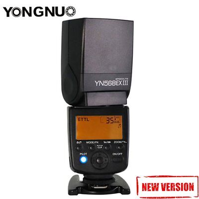 Yongnuo YN-568EX II TTL Master HSS High Speed Sync Flash Speedlite for CANON UK