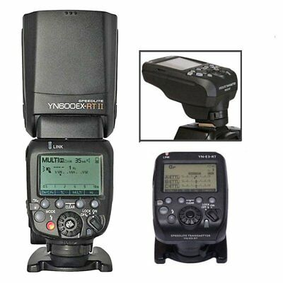 Yongnuo YN-E3-RT Transmitter + YN600EX-RT II Wireless Master Flash for Canon UK