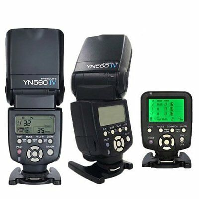 Yongnuo YN560-TX C Wireless Controller + 2PCS YN-560 IV Flash for Canon UK