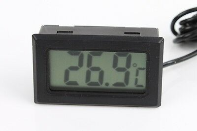 Mini Digital LCD Thermometer Temperature Meter for Refrigerator Freezer Humidor