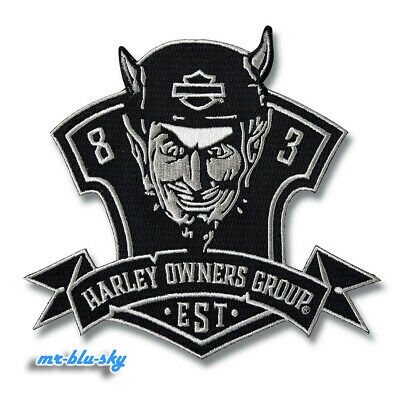 Rebel Logo Patch ~ Harley Davidson Owners Group HOG  H.O.G.