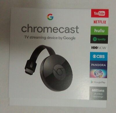 Google Chromecast 2nd Generation Digital HD Media Streamer