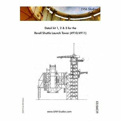 LVM LC39S123 1/144 PE Shuttle Launch Tower exterior for Revell 4910/11