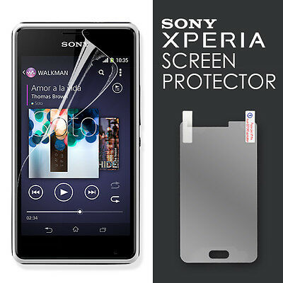New Ultra CLEAR Screen Protector Guard For Sony Xperia E1 OZ