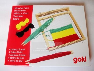 Top Quality 22cm Portable weaving loom Pad Model Hand Craft Wooden Toy