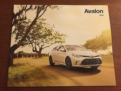 2016 Toyota Avalon 24-page Original Sales Brochure