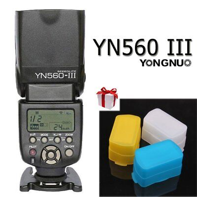 YONGNUO YN560 III Wrieless Trigger & Flash Speedlite for Nikon Canon DSLR UK