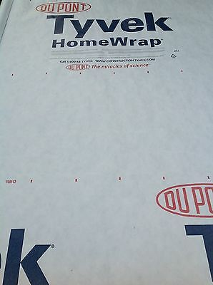 Dupont Tyvek Homewrap~10 ft wide~Order what you need~by the foot