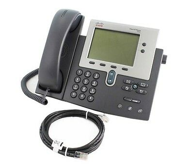 Cisco 7940G VoIP Phone with SCCP Firmware - Black - B Grade