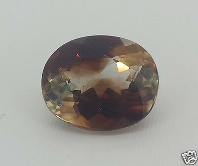 Topazio Imperiale Bicolor 8,10 Ct. 100%  Naturale