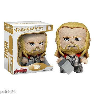 Avengers L'Ère d'Ultron Fabrikations peluche Thor figurine collector n° 15 Funko