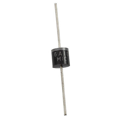 10 x 6A10 1000V 6A Axial Lead Silicon Rectifier Diodes TS