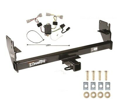 """Class 3 Trailer Hitch & Wiring For 2005-2015 Toyota Tacoma 2"""" Tow Receiver 75236"""