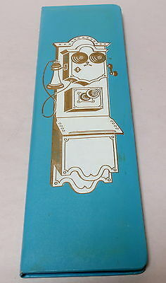 VINTAGE RETRO TELEPHONE & ADDRESS BOOK NEW IN BOX c.1960s