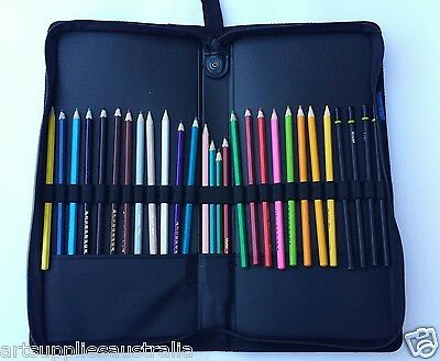 Pencil Holder Case with capacity of holding 28 pencils-Zip Case
