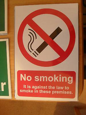 Health & Safety Sign No Smoking