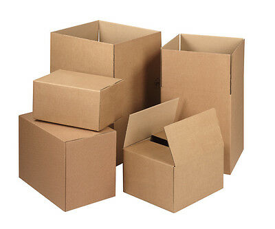 Brand New Single Wall Postal Mailing Cardboard Boxes 19 Sizes!