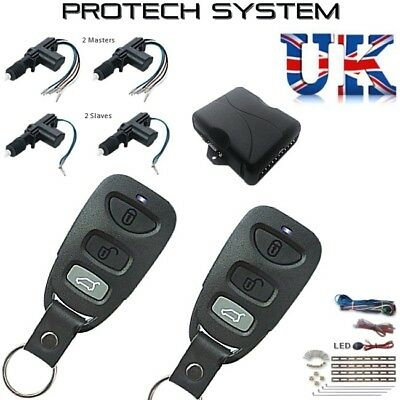 Latest High Spec Hopping Code Central Locking Kit Remote Keyless CLR788HC-4D