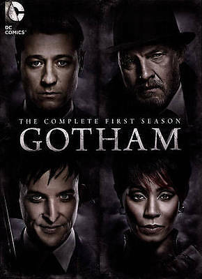 Gotham: The Complete First 1st Season DVD 6-Disc 2015 Batman, Penguin New Sealed