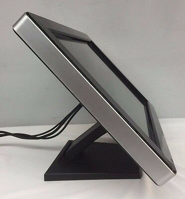 Touch Screen PC Monitor Mount. Flexible Foldable Stand. Great for POS or Karaoke