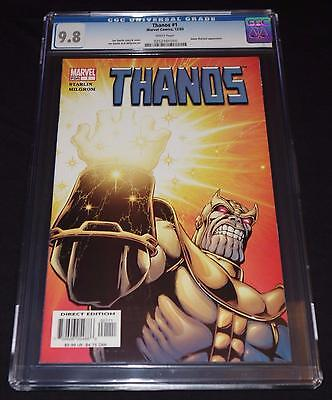 THANOS #1 CGC 9.8 White Pages from 2003 - Jim Starlin - Adam Warlock app