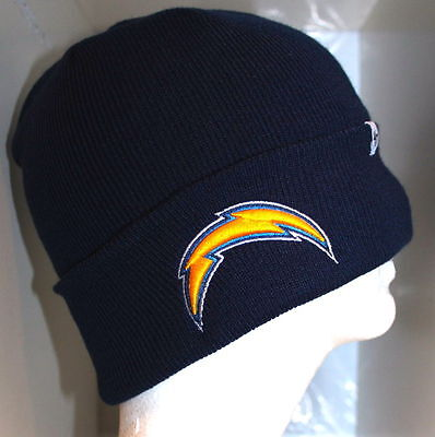 NFL Los Angeles Chargers Adult 47 BRAND Basic CUFFED KNIT Cap Beanie Hat  Navy 90ebdaed8