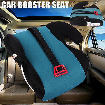 2xCar Booster Seat GreenSturdy Baby Child Kid Children Fit 3 To 12 Years Safety