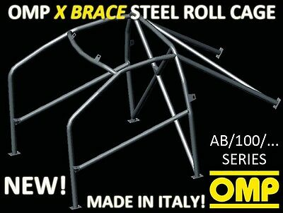 Ab/100/246 Omp Bolt In Roll Cage Mg Rover 105 Zr All