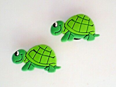 Clog Shoe Charm Plug Button For Accessories For Wristband Turtle