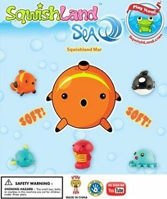 Sqwishland SEA Pencil Toppers - Vending Display Card - Collectible
