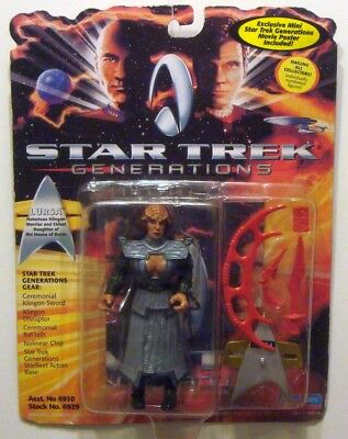 Star Trek Generations / Enterprise - Klingon Lursa / Playmates