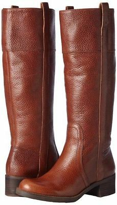 e8f2704d4b4 Lucky Brand Hibiscus Bourbon Wide Calf Knee High Strong Leather Boots  Heloisse