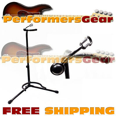 Deluxe Padded Acoustic, Electric, Bass Guitar Stand Adjustable Height - NEW