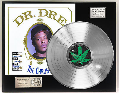Dr. Dre The Chronic - Platinum Album LP Display Limited Edition - USA Ships Free