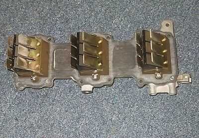 1990 85hp 3 cylinder Yamaha  outboard reed valves