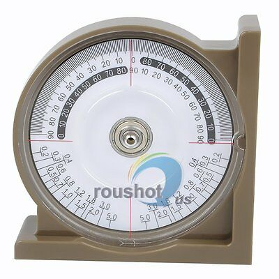 Multi-function Angle Gauge Inclinometer Measurement Protractor w/ Spirit Level