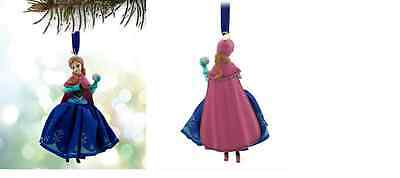DISNEY STORE 2015 Anna Sketchbook Ornament FROM THE MOVIE FROZEN NEW IN WITH TAG