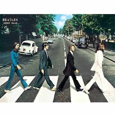Poster 3d Lenticulars 67X47 Beatles Abbey road