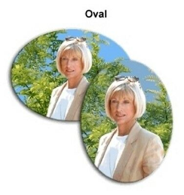 Porcelain Portraits, Memorial Photos or Family Portraits - Oval - 9 1/2 x 12
