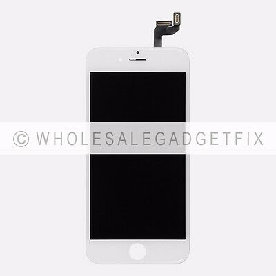 White Touch Screen Digitizer + LCD Display + Frame Assembly Parts for Iphone 6S