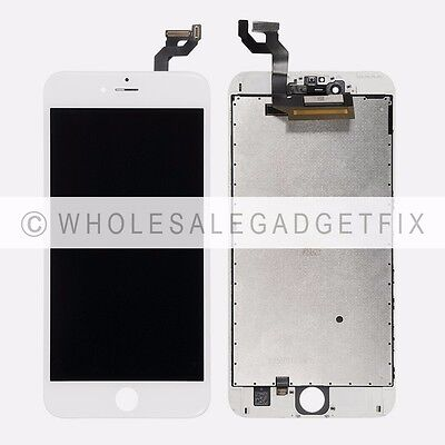 """White Touch Screen Digitizer + LCD Display Assembly for Iphone 6S Plus 6S+ 5.5"""""""